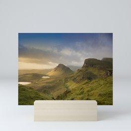 Sunrise Over the Quiraing III Mini Art Print