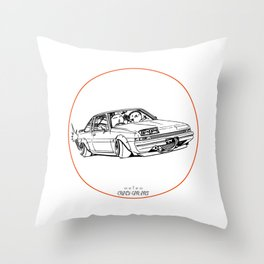 Crazy Car Art 0220 Throw Pillow