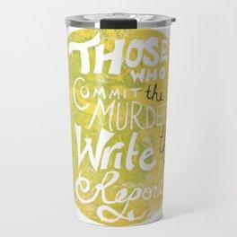 Ida B. Wells-Barnett Travel Mug