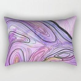 Amethyst Agate II Rectangular Pillow