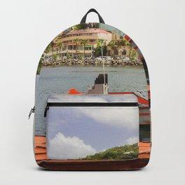 Marigot, St Martin Backpack
