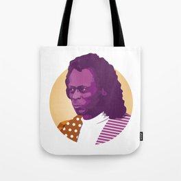 Jazz legend Tote Bag