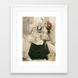 Hommage à Beardsley III Framed Art Print