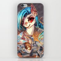 mlp iPhone & iPod Skins featuring MLP: Jinx by Erin Liona