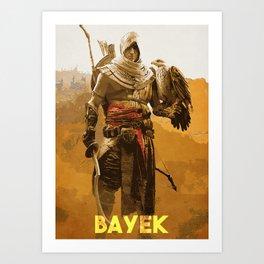 Bayek Art Print