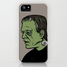 The Monster, Frankenstein iPhone Case