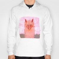 alpaca Hoodies featuring Alpaca!!! by J Han