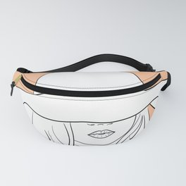 It's A Sunhat Kind of Mood - Empowered Women In Hat Series Fanny Pack