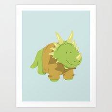 StyraCOATsaurus Art Print