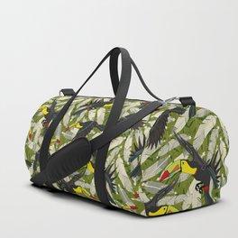 toucan jungle Duffle Bag