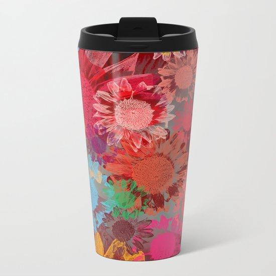 Flower carpet(38). Metal Travel Mug