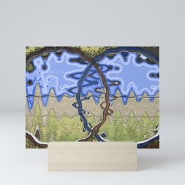 Scarpa Circles Mini Art Print