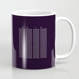 nulla dies sine linea / not a day without a line Coffee Mug