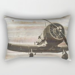 Old airplane 2 Rectangular Pillow