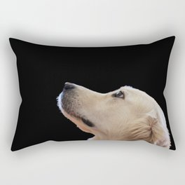 Man's Best Friend - Labrador Dog Portrait Rectangular Pillow