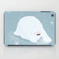 yeti iPad Cases featuring Yeti by WideFrame