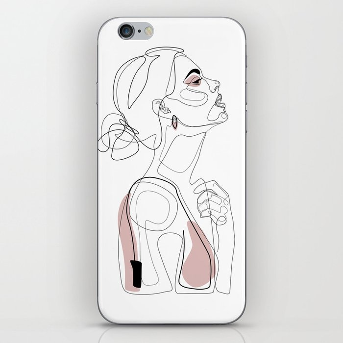 Blush Beauty iPhone Skin