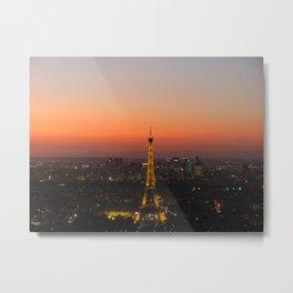 A Night in Paris. by Michelle McLaughlin. Metal Print