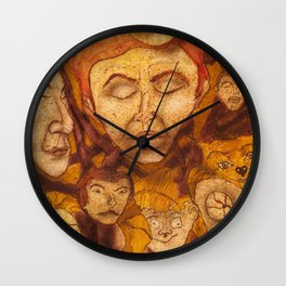 The Laid-Back Ones Tree / A Árvore dos Pacatos Wall Clock