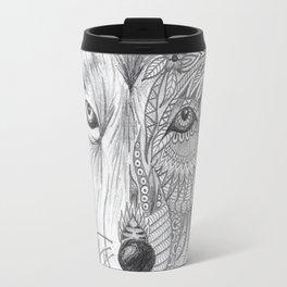 Two Faced Travel Mug