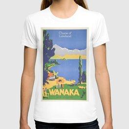 Vintage poster - Wanaka T-shirt