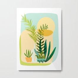 Whimsical Garden Metal Print