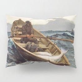 The Fog Warning, Halibut Fishing - Digital Remastered Edition Pillow Sham