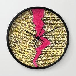 Broken Matzah Wall Clock