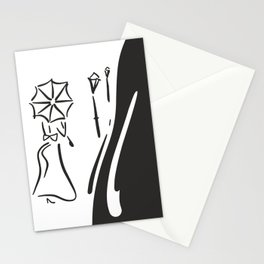 Afternoon Stroll Stationery Cards