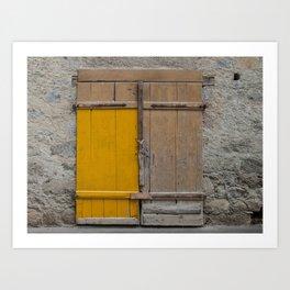 Door near Merano Art Print
