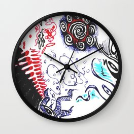 In a flash! Wall Clock