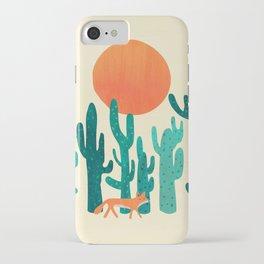 Desert fox iPhone Case