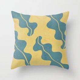 Ocean/Sea Weed/ Cute Print Throw Pillow