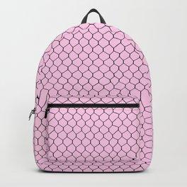 Chicken Wire Blush Backpack