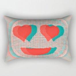 Heart Emoji Rectangular Pillow