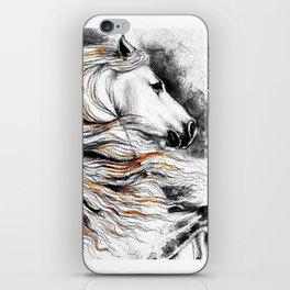Dark Beauty Horse iPhone Skin