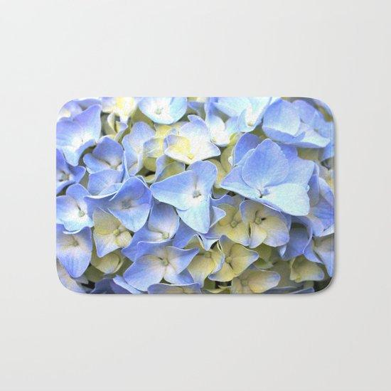 Soft Periwinkle Hydrangea Bath Mat