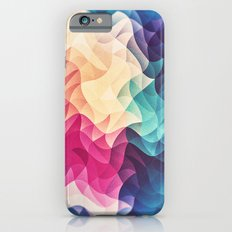 Geometry Triangle Wave Multicolor Mosaic Pattern - (HDR - Low Poly Art) iPhone 6s Slim Case