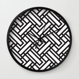 geometric 5 Wall Clock