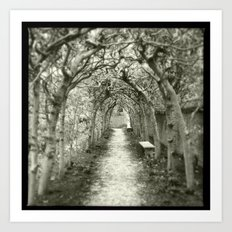 The Beckoning of the Bough Art Print