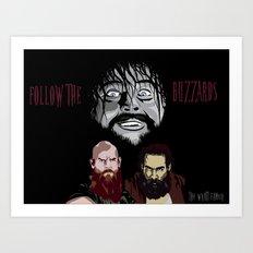 WWE - The Wyatt Family Art Print