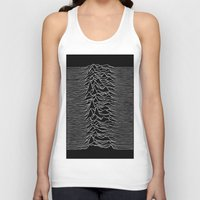 joy division Tank Tops featuring Joy Division 2 by NoHo