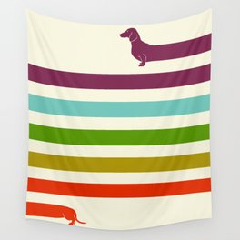 (Very) Long Dachshund Wall Tapestry