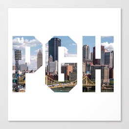 PITTSBURGH - The City Canvas Print