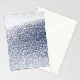 Snow minimalism Stationery Cards