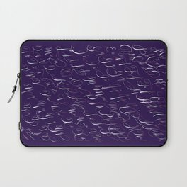 Spencerian Handwrite Laptop Sleeve