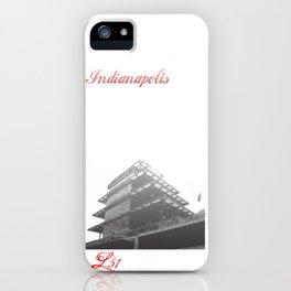 Cities Of America: Indianapolis iPhone Case