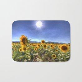 Sunflower Summer Days Bath Mat