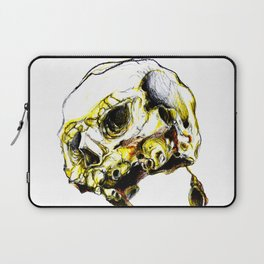 Yellow Skul Laptop Sleeve