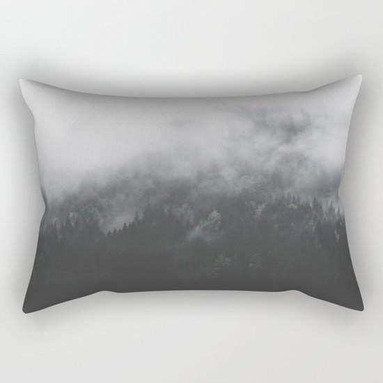 Spectral Forest II - Landscape Photography Rectangular Pillow